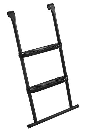 Best For Garden Trampolin Leiter 74 cm 86 cm 92 cm oder 110 cm lang Treppe mit 3 Breiten Stufen praktische Einstiegsleiter f/ür Gartentrampoline