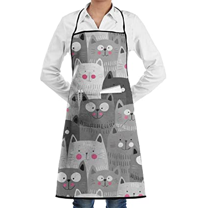 High Quality Cute Animal Squirrels Pattern Printing Home Leisure Fashion Kitchen Aprons Bag Parts & Accessories