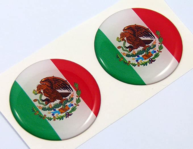 MAGNET Mexico Mexican Flag Shield Decal Badge Car Motorcycle Decal MAGNETIC S...