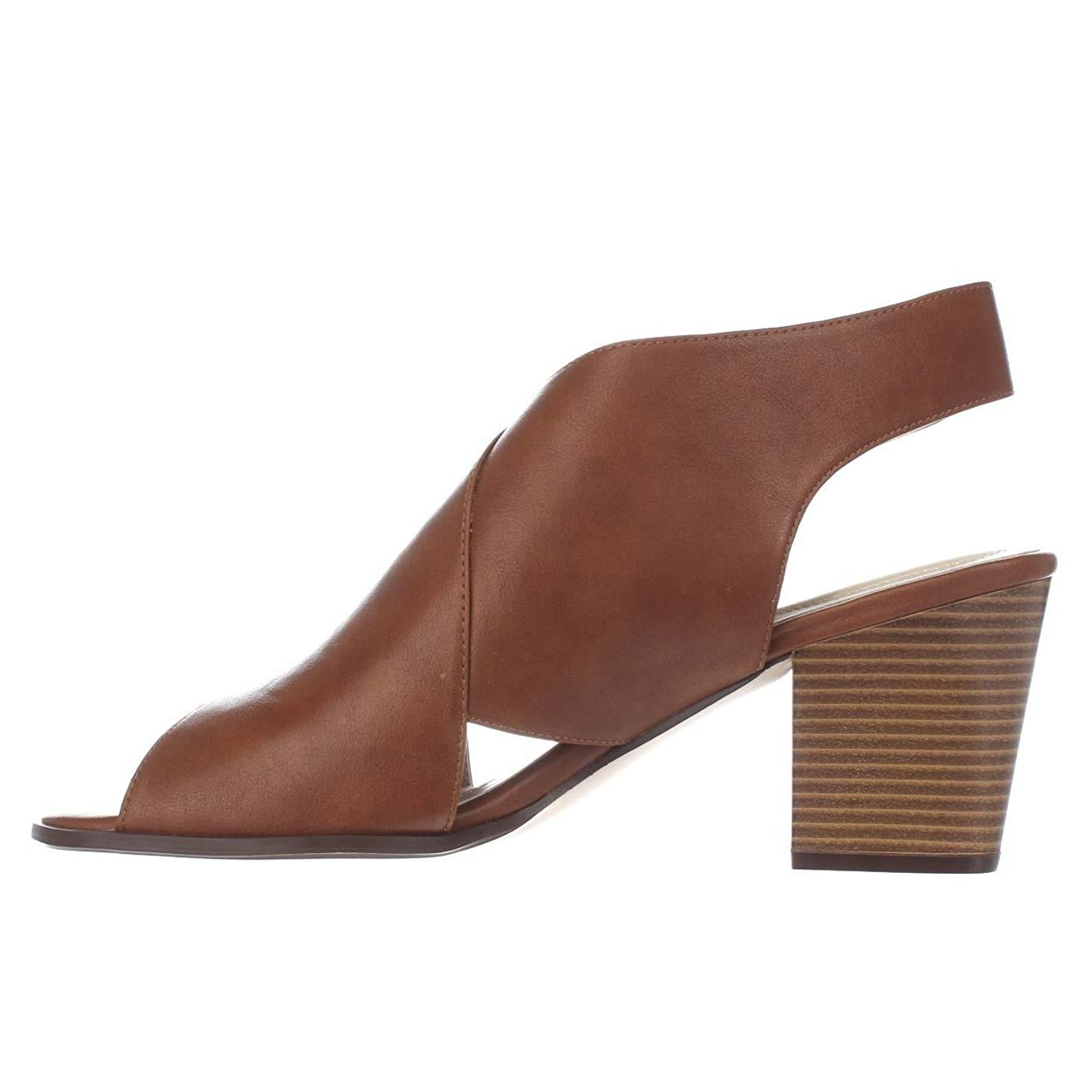 Style & Co. Womens Danyell Open Toe Casual Mule Sandals, Saddle, Size 6.5