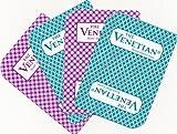 2 Decks of VENETIAN CASINO Las Vegas Nevada Used Playing Cards