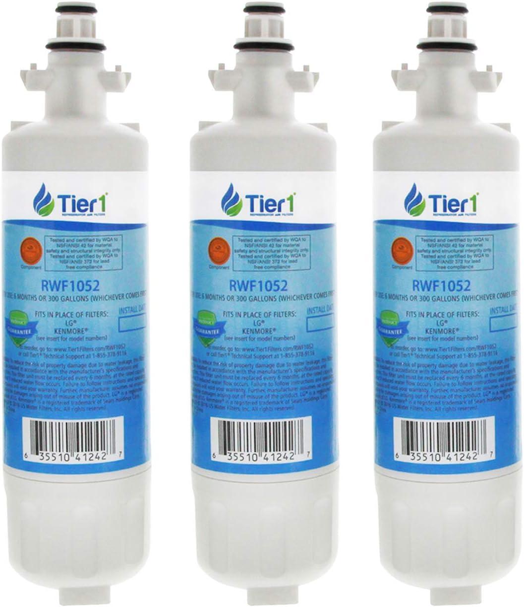 Compatible LG LT 700p réfrigérateur Filtre adq36006101 adq36006102 Filtre eff-6032a