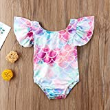 Younger Tree Toddler Baby Girls Mermaid Ruffles