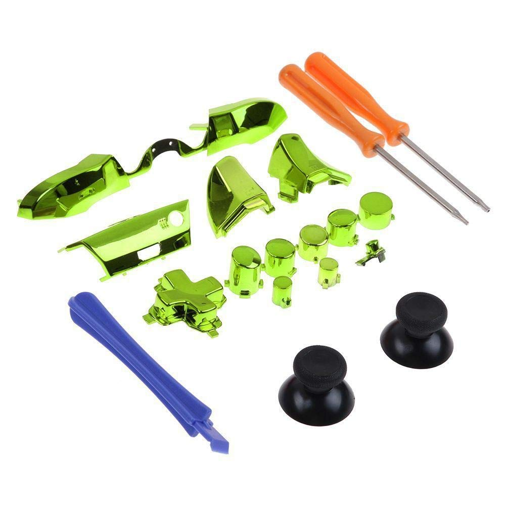Forart Replaceable Controller Parts Compatible Xbox One Elite Controller Accessories Set Controller Parts Compatible Replaceable Sets for D-pad LB RB LT RT by Forart (Image #1)