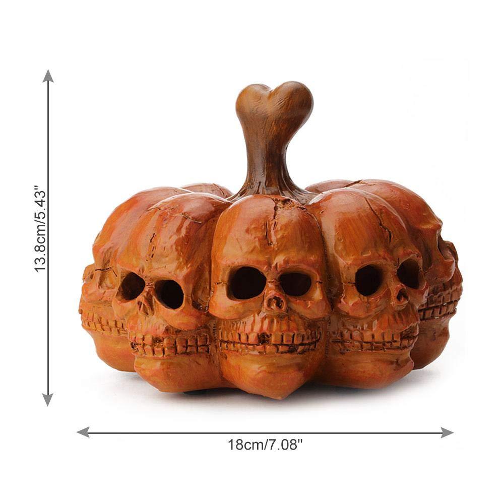 Buy Skull Pumpkins Light for Halloween LED Battery Operated