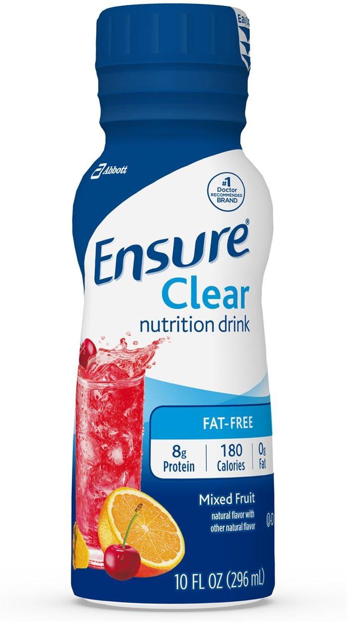 ensure clkear liquid diet