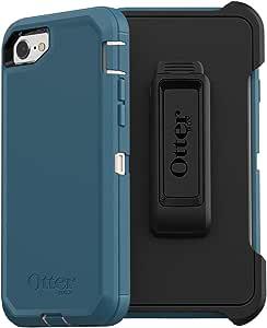 OtterBox DEFENDER SERIES Case for iPhone 8/7 (NOT PLUS) - Retail Packaging - BIG SUR (PALE BEIGE/CORSAIR)