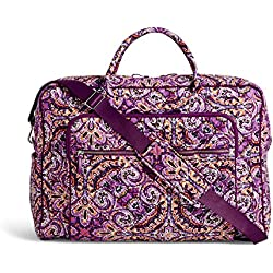 Vera Bradley Iconic Grand Weekender Travel Bag, Signature Cotton, Dream Tapestry