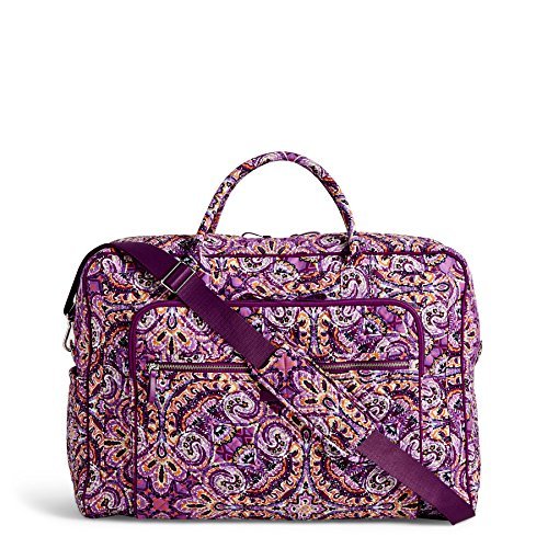 - Vera Bradley Iconic Grand Weekender Travel Bag, Signature Cotton, Dream Tapestry