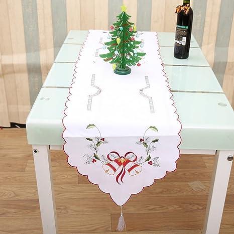 Camino de Mesa de Navidad para decoración de Navidad, Estilo Hueco ...