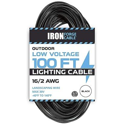 16/2 Low Voltage Landscape Wire - 100ft Outdoor Low-Voltage