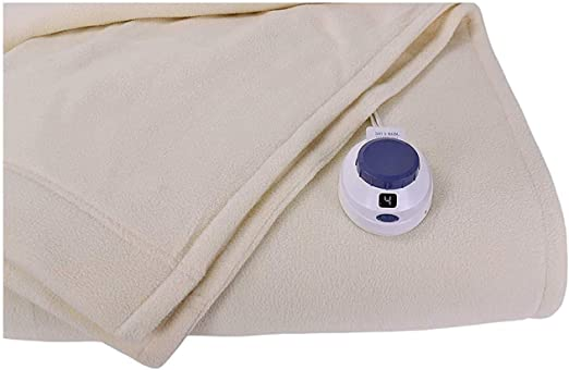 OPENBOX Perfect Fit SoftHeat Micro-Fleece Low-Voltage Electric Heated Blanket