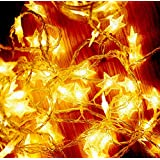 String light Star, LED Fairy String Star Lights 5 Meter 16ft Two AA Battery for Decoration/Party/DIY/ Christmas/Thanksgiving/Halloween (5M50LED)