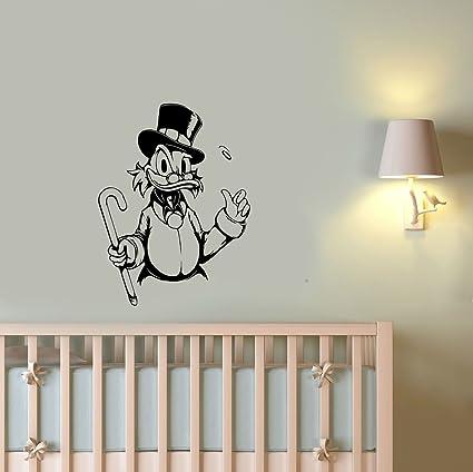 DuckTales Wall Sticker Uncle Scrooge McDuck Vinyl Decal 90s