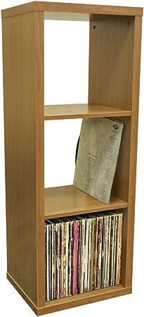LP Vinyls WATSONS Etagere 3 Rangement Cube de Chene Finition f6y7gmIYvb