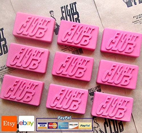 Fight Club Soap Original Shape Handmade by Project Mayhem - Novelty, Unisex, New, 1 pcs/lot ()