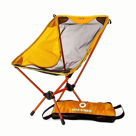 DUBAOBAO Camping Silla Exterior Plegable Silla 7075 Antena ...