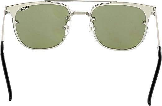 6b8983a8a0b Quay Mirrored Private Eyes QW-000175-SLV VIO Silver Rimless Sunglasses  Quay   Amazon.com.mx  Ropa