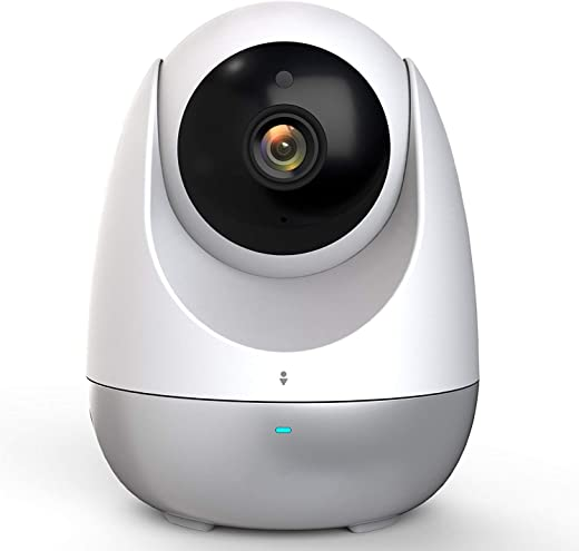 360 Dome PTZ Camera,1080p HD Pan/Tilt/Zoom Indoor Smart Home Camera IP Security Surveillance System with Night Vision, 2-Way Audio, Motion Alerts, Auto Patrol and Tracking