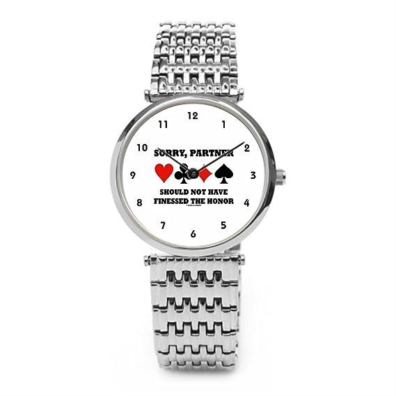 z0e Sorry pareja no debe tener finessed el honor reloj de pulsera