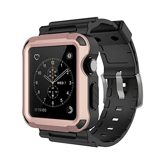 29 opinioni per Simpeak Custodia cover per Apple Watch 42mm Case [3D Toccare Compatibile] con