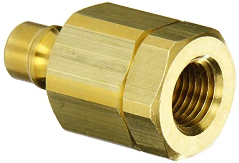 3//4 NPTF Female x 3//4 Coupling Size 3//4 NPTF Female x 3//4 Coupling Size Snap-Tite VHN12-12F Zinc-Plated Steel H-Shape Quick-Disconnect Hose Coupling Nipple
