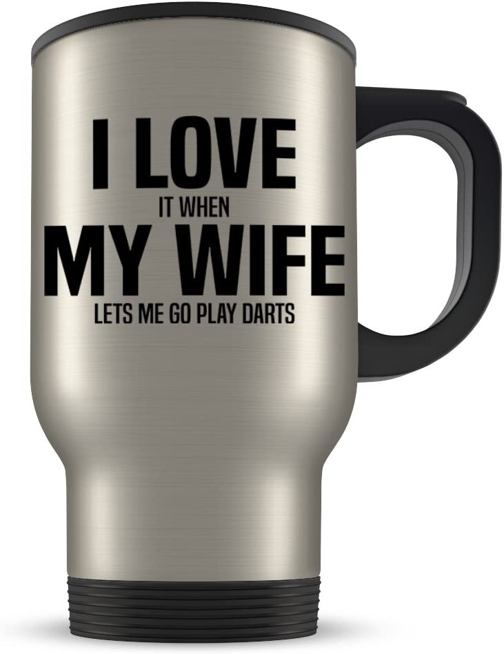 Best Darts Player Ever Fathers Day Mug