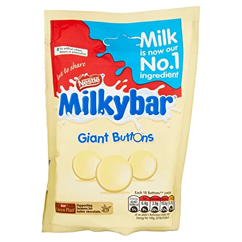 Nestle Milkybar Giant Buttons, 120g