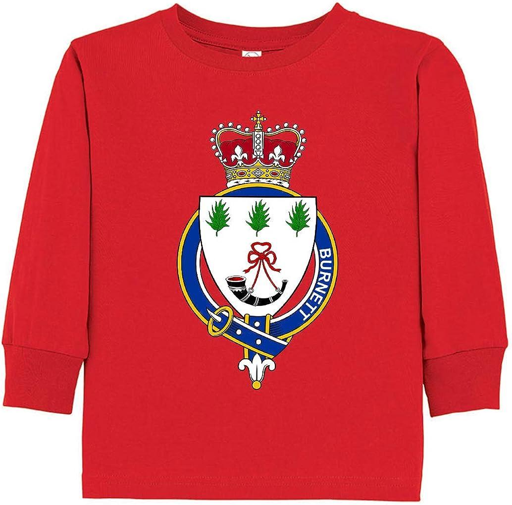 Tenacitee Toddlers Scottish Garter Family Burnett Long Sleeve T-Shirt
