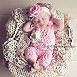 Spring Flower Romper & Headband Outfit