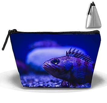 8c256b9c7468 Amazon.com : Cosmetic Bags Travel Portable Makeup Pouch Pretty Deep ...