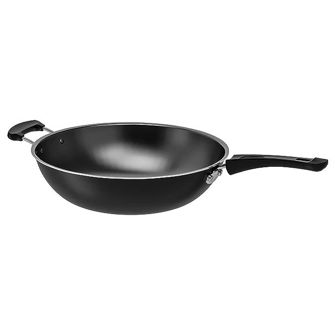 Wok Black - Wok (altura 12 cm, diámetro 33 cm), color negro ...