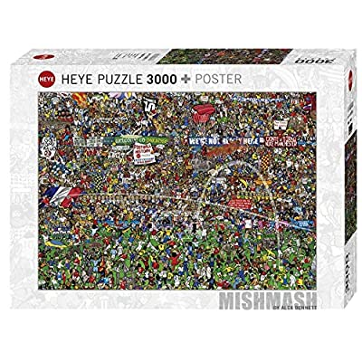 Heye Spz3000 Football History Puzzle Standard 29205 11