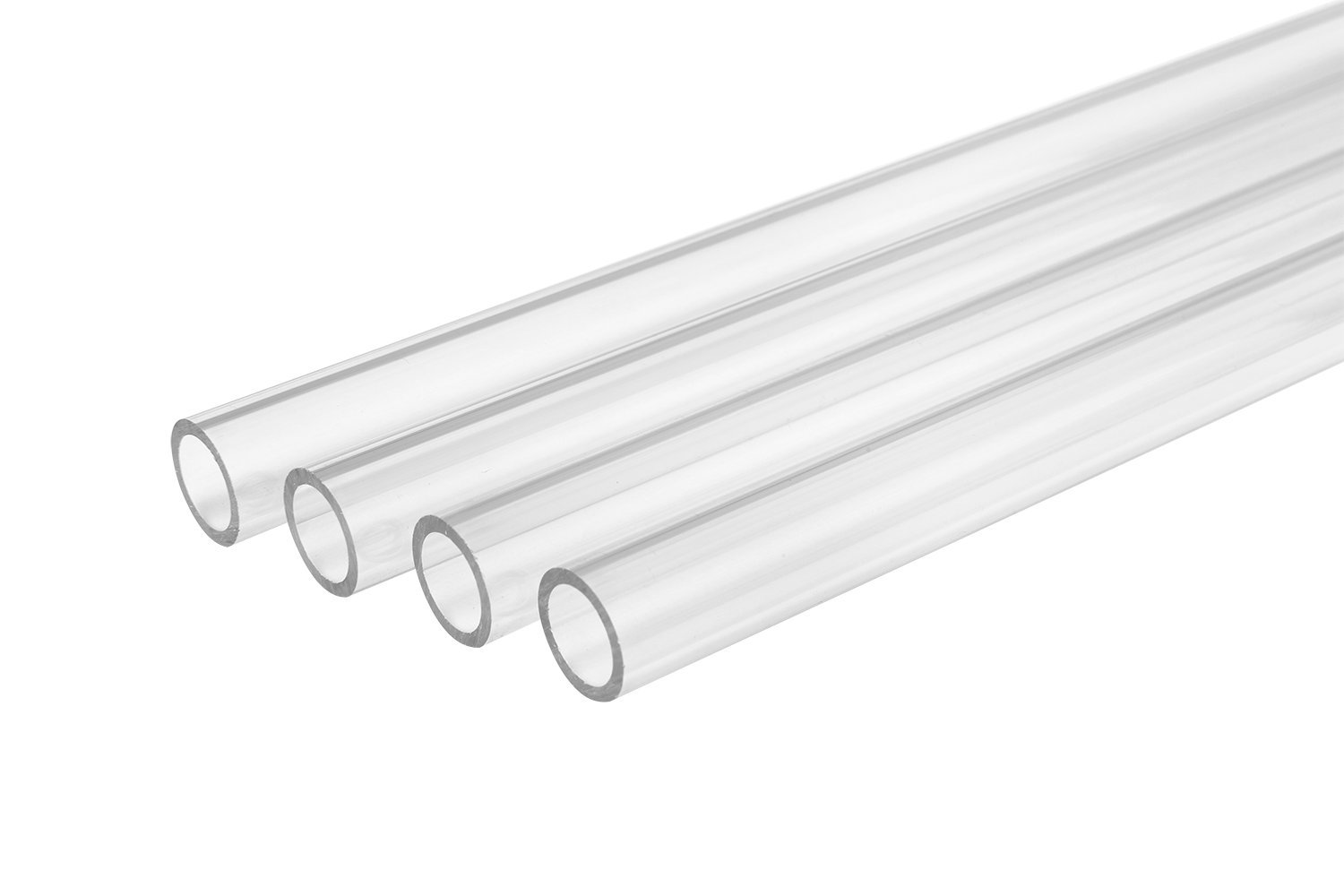 Thermaltake Pacific DIY LCS 1000mm Lengths V-Tubler PETG Hard Tubing (4-Pack) OD 16mm (5/8'') x ID 12mm (1/2'') CL-W116-PL16TR-A by Thermaltake