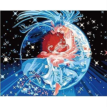 Hq Horóscopo Escorpio Misterioso Pintura Digital Pintura Por Números Para Colorear Por Número Dibujo Imágenes Decoración Del Hogar Regalo: Amazon.es: Hogar