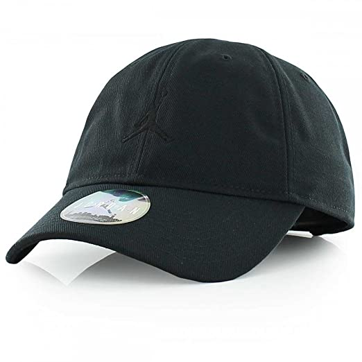 68eb543b9cd Amazon.com  Nike Mens Air Jordan Floppy H86 Dad Hat Black Black ...