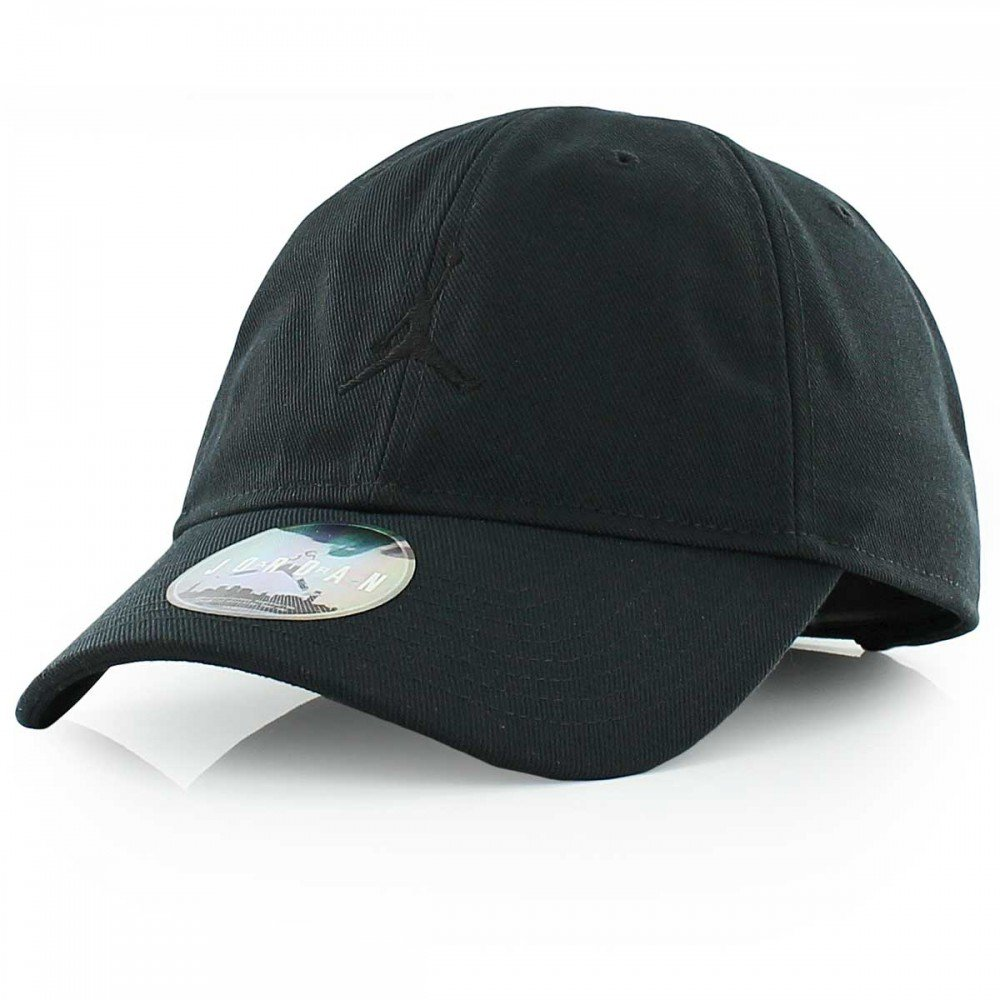 1bc34d5dbc7 Nike Mens Air Jordan Floppy H86 Dad Hat Black Black 847143-010