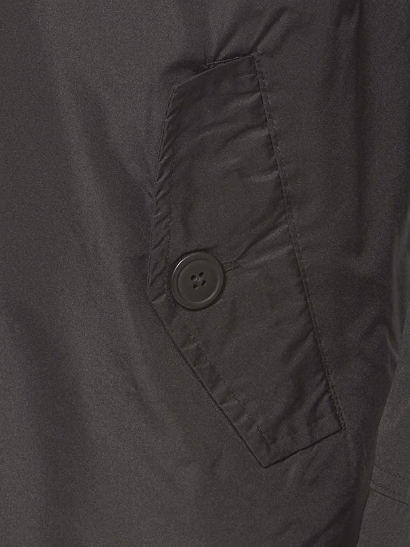 SS7 Mens Casual Fully Lined Trench Coat Sizes S M L XL Black