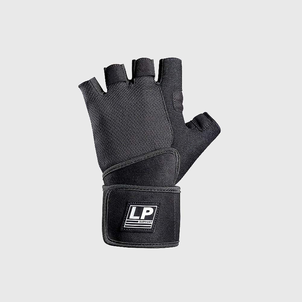 Agelec Sports Gloves, Female Men's Gym Equipment Training Non-Slip Wear-Resistant Palms Half Finger Exercise Gloves, Half Finger Wrist Mitten Female Men's Gym Equipment Training Non-Slip Wear-Resistant Palms Half Finger Exercise Gloves
