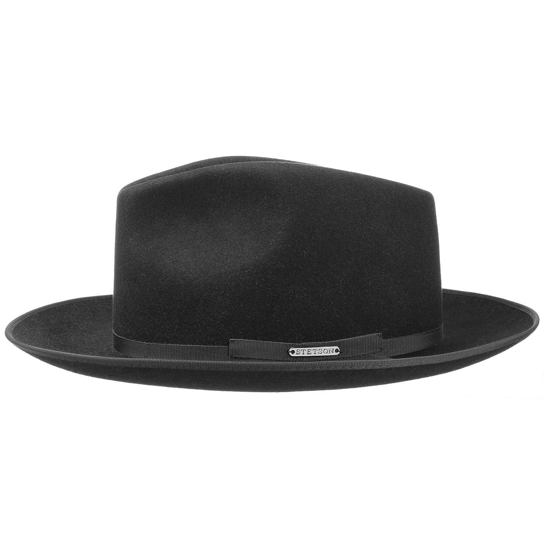 8f16216cbd86d5 Stratoliner Classic Men´s Hat Stetson fur felt hat felt hat: Amazon.co.uk:  Clothing