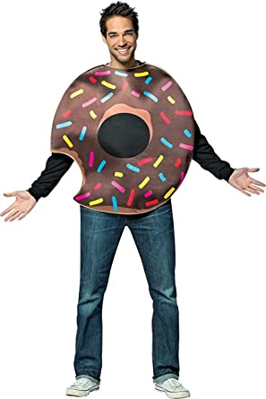 Chocolate Donut Costume - One Size - Chest Size 48-52  sc 1 st  Amazon.com & Amazon.com: Chocolate Donut Costume - One Size - Chest Size 48-52 ...