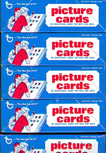 6 1988 Topps Baseball Vending Box Complete Set Wax Pack G...