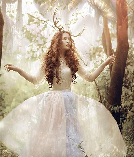 Diadema para disfraz de hada de bosque hecha a mano para Halloween ...
