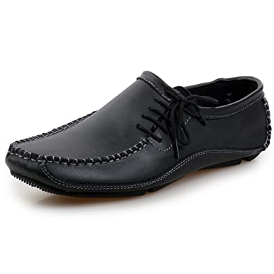 Men's Casual Slip On Leather Loafers