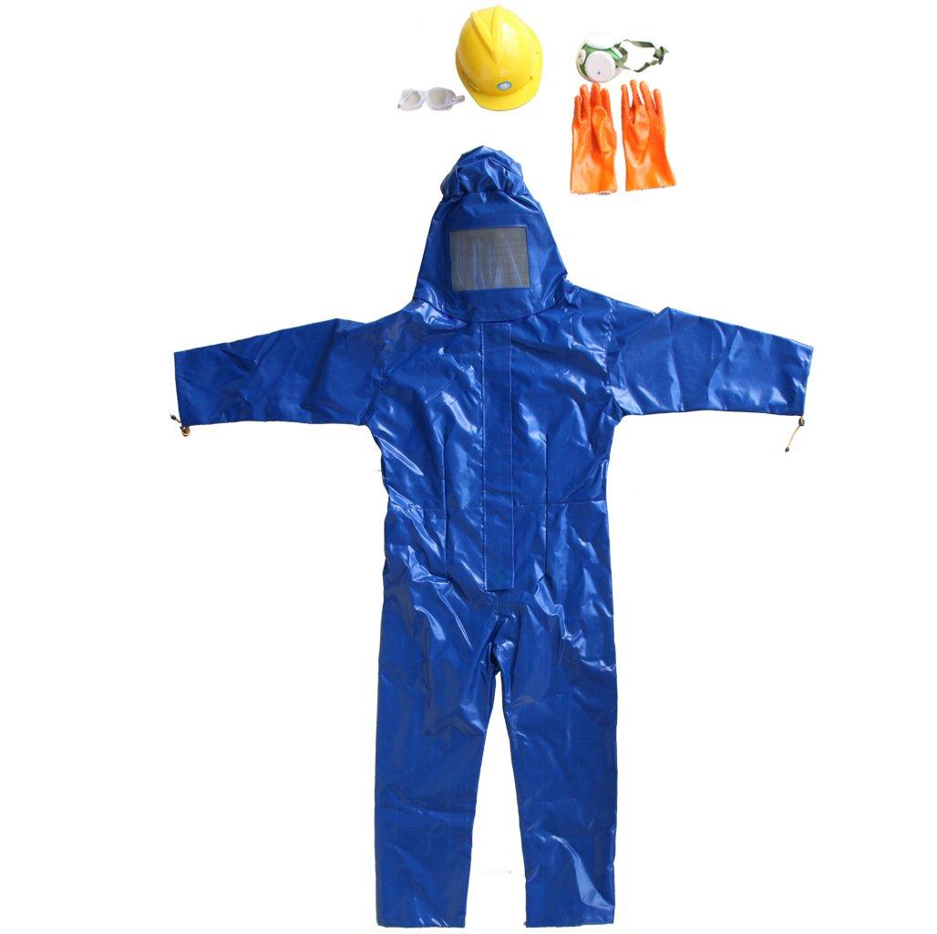 【ノーブランド品】プロ防護服 害虫駆除 養蜂用 メガネ 草刈り 保護スーツ ジャケット ドレススモック機器 B014R2R3PQ