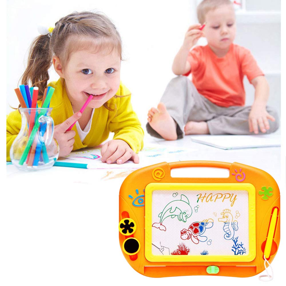Amazon.com: sealive Kids magnético tablero de dibujo 11.8
