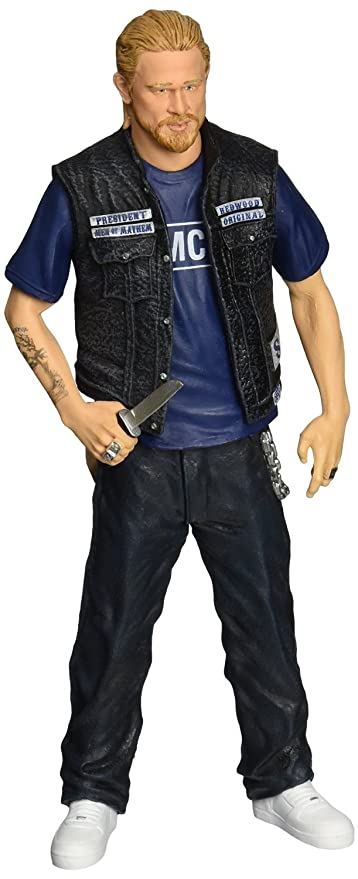 Mezco Toyz Sons of Anarchy - Jax Teller - SAMCRO Shirt Figure 6u0026quot;  sc 1 st  Amazon.com & Amazon.com: Mezco Toyz Sons of Anarchy - Jax Teller - SAMCRO Shirt ...