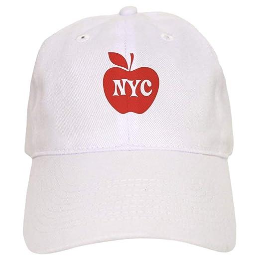 New York City Big Red Apple - Baseball Cap with Adjustable Closure ... f7486907e28