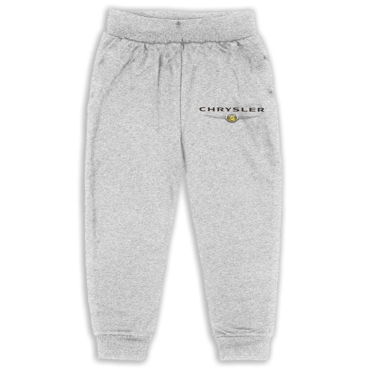 NEST-Homer Childrens Sweatpants Chrysler Car Logo Boys and Girls Jogger Long Pants Sweatpants Leggings