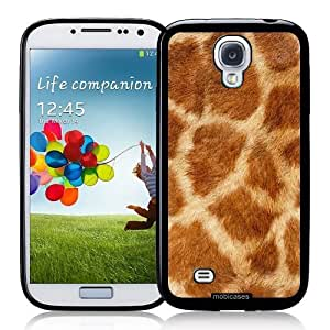 Cool Painting Giraffe Skin Pattern - Protective Designer BLACK Case - Fits Samsung Galaxy S4 i9500